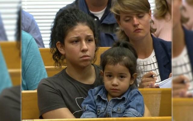 Ex novia de migrante acusado de asesinato en Iowa acude a la corte - Foto de KCCI
