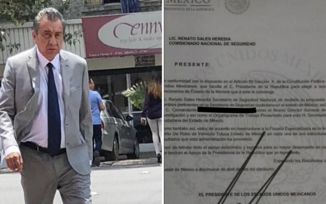 Sujeto vende plazas a policías con documentos falsos - Foto de @c4jimenez