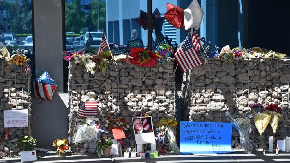 Inician homenajes póstumos a John McCain - Foto de AFP