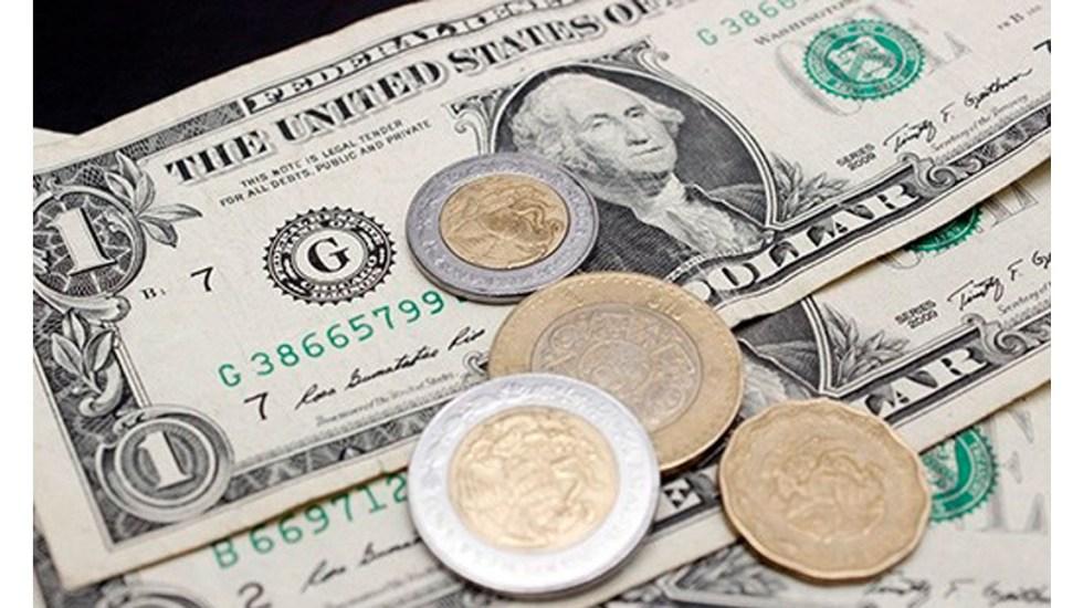 Peso cierra con ganancia por cuarta jornada consecutiva - Dólar
