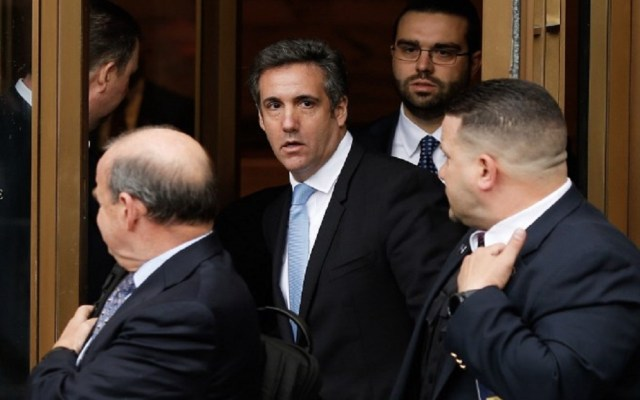 Michael Cohen exige a la Trump Organization que pague sus gastos legales - Foto de AFP / Eduardo Muñoz Álvarez