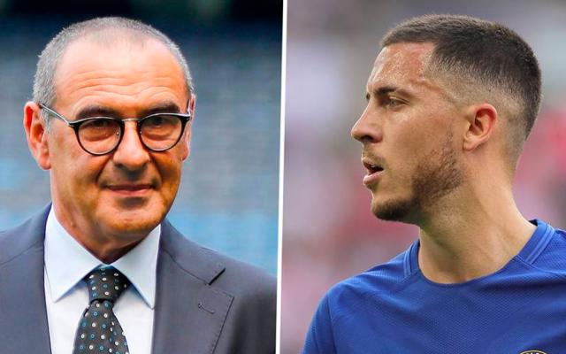 """Salida de Hazard del Chelsea es """"imposible"""": Maurizio Sarri - Foto de Internet"""