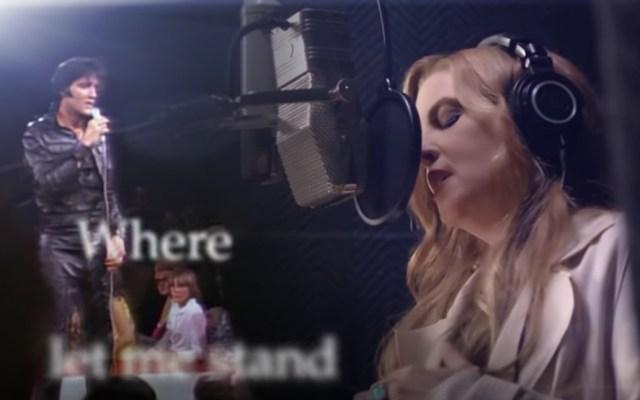 Lanzan dueto de Elvis Presley y su hija Lisa Marie