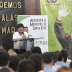 Foto de Twitter Evo Morales