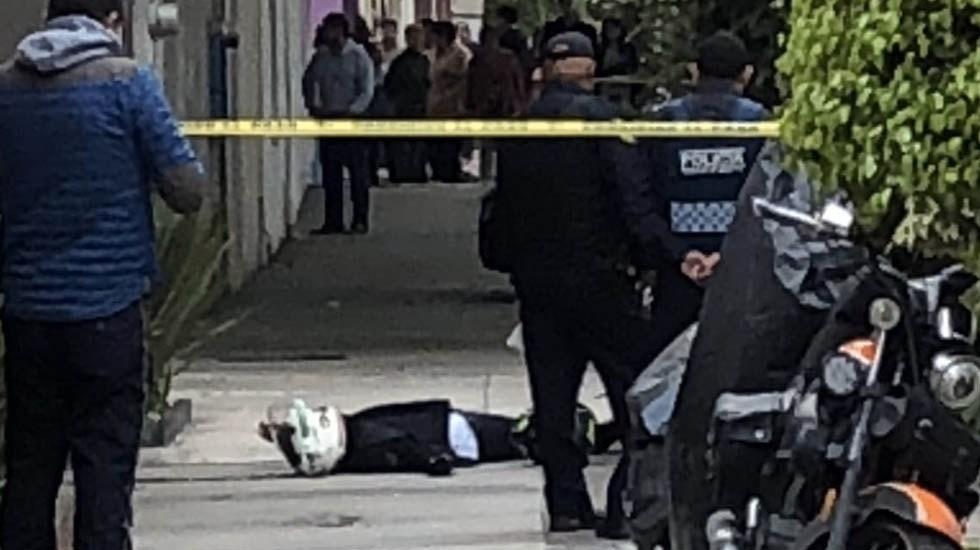 Asesinan a Fabio Melanitto en la Narvarte - Foto de @c4jimenez1