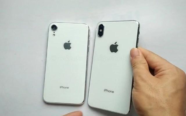 #Video Filtran posibles diseños de los nuevos iPhone - Foto de @OnLeaks