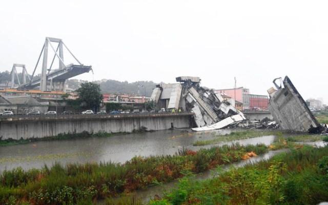 Decretan estado de emergencia en Génova por 12 meses