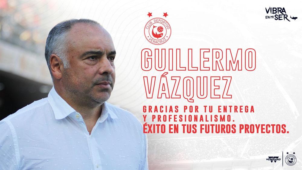 Guillermo Vázquez renuncia al Veracruz - Foto de @ClubTiburones