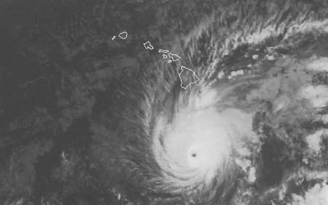 Alerta por huracán Lane en Hawaii - Foto de NOAA