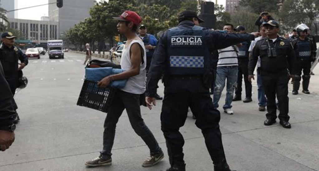 Aumentan quejas por agresiones contra personas en situación de calle por parte de policías - Foto de archivo