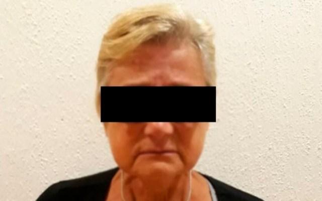 PF detiene a italiana con droga y joyas en Cancún - Foto Especial