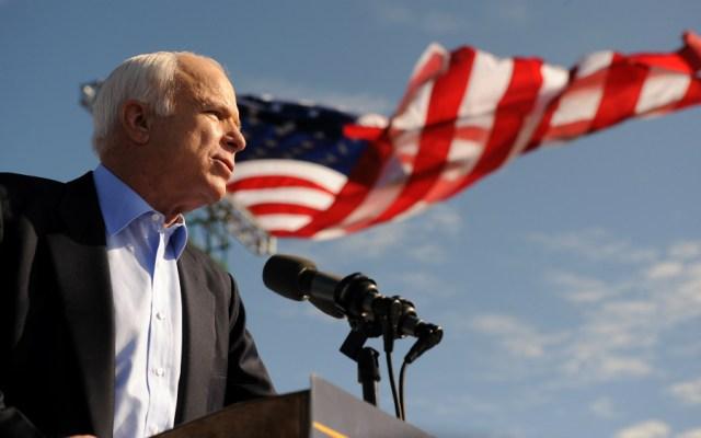 Reconocen políticos de EE.UU. figura de McCain - Foto de AFP