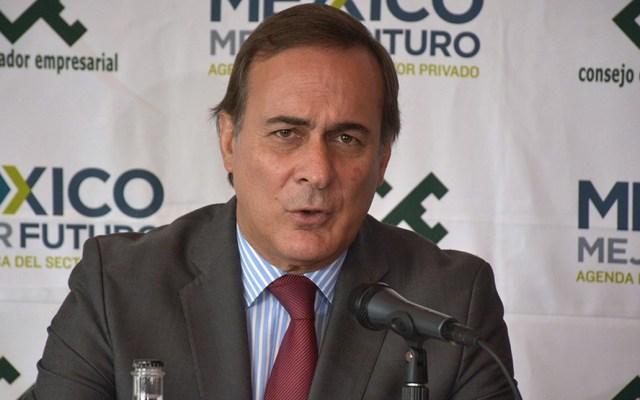 Acuerdo con EE.UU. abre camino para aumentar salarios en México: CEE - Juan Pablo Castañón advirtió de los riesgos de la cancelación del NAIM