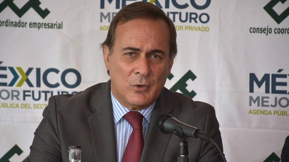 Cancelación del NAIM daña la confianza en el país: Castañón - Juan Pablo Castañón advirtió de los riesgos de la cancelación del NAIM