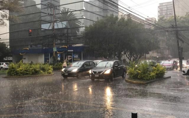 Alerta Naranja por tormenta en siete alcaldías en la Ciudad de México - lluvia Ciudad de México
