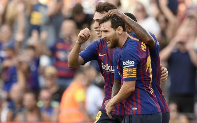 Barcelona golea a Boca Juniors y conquista un nuevo Trofeo Joan Gamper - Foto de AFP