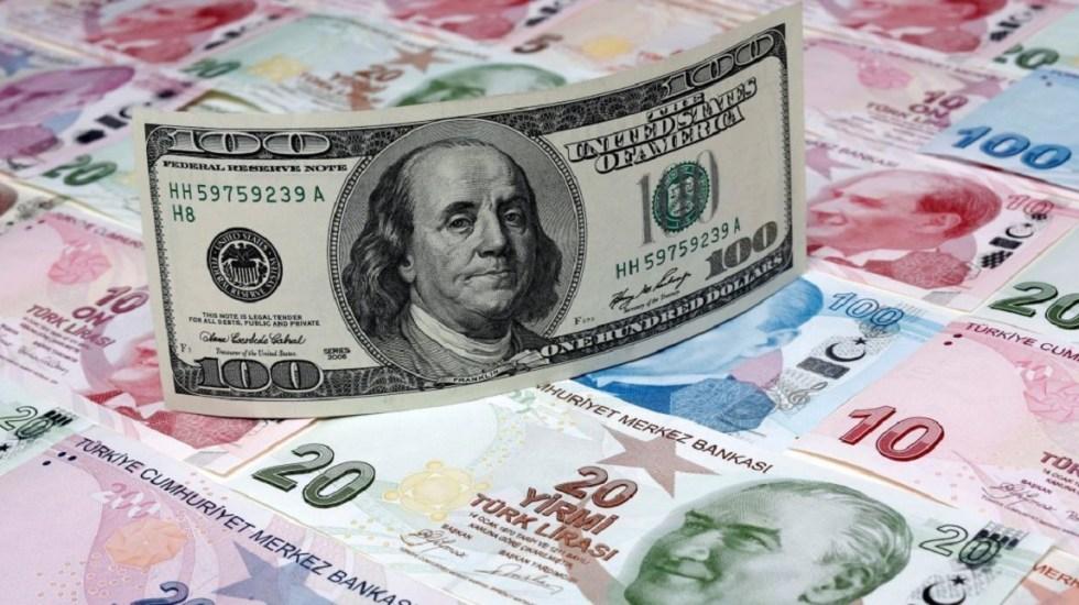 Moneda de Turquía se desploma frente al dólar - Foto de internet