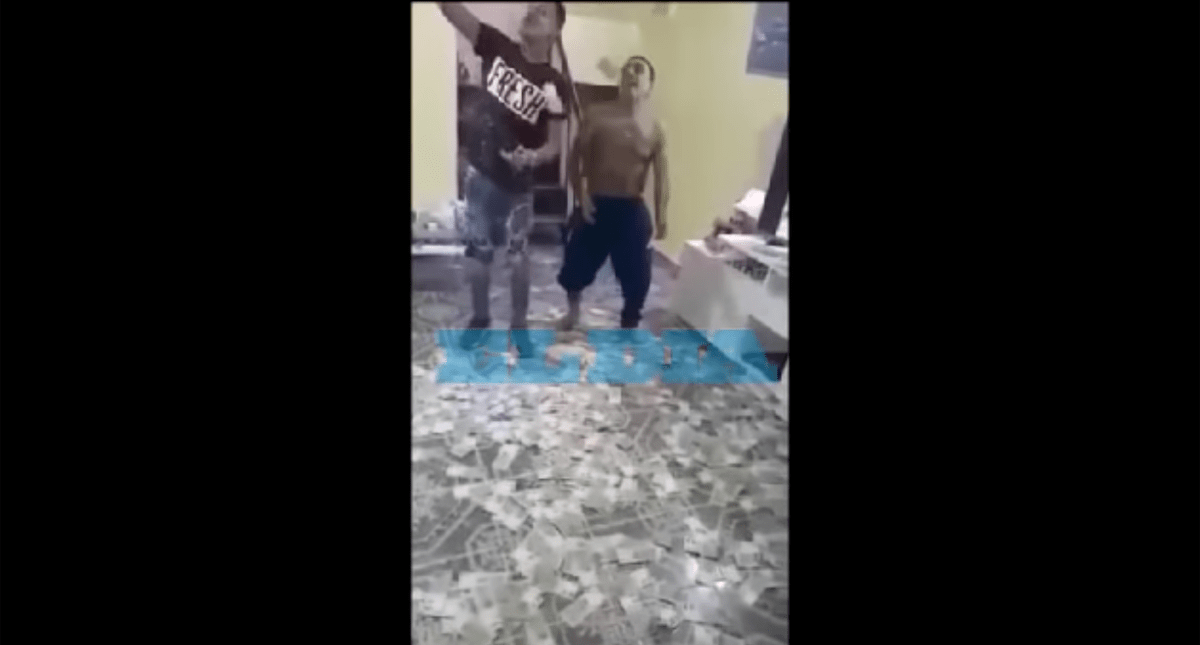 Cae narco por grabarse bailando bajo una