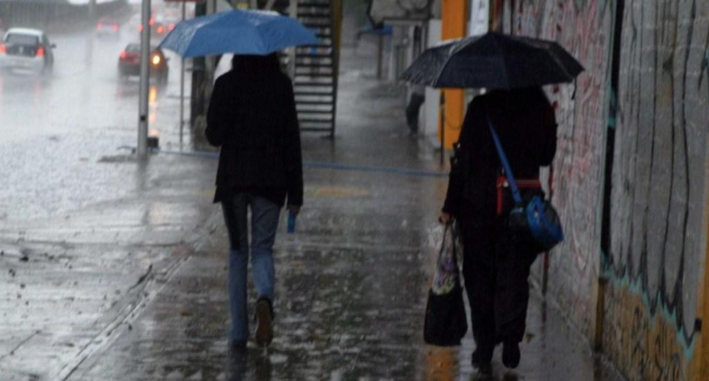 Activan Alerta Amarilla por lluvia en ocho alcaldías. Noticias en tiempo real