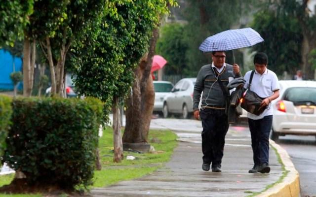 Activan Alerta Amarilla por lluvia en 14 delegaciones - Foto de Notimex