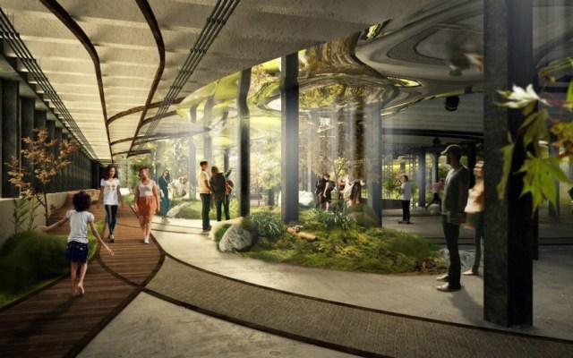 Así será el innovador parque subterráneo de Nueva York - Foto de The Lowline