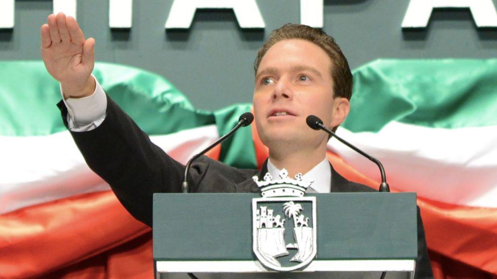 Confirman a Manuel Velasco como coordinador del Verde en el Senado