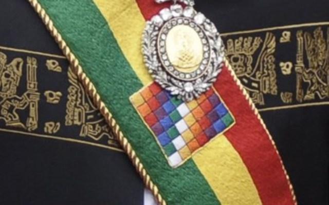 Recuperan medalla presidencial de Bolivia tras robo - Foto de internet