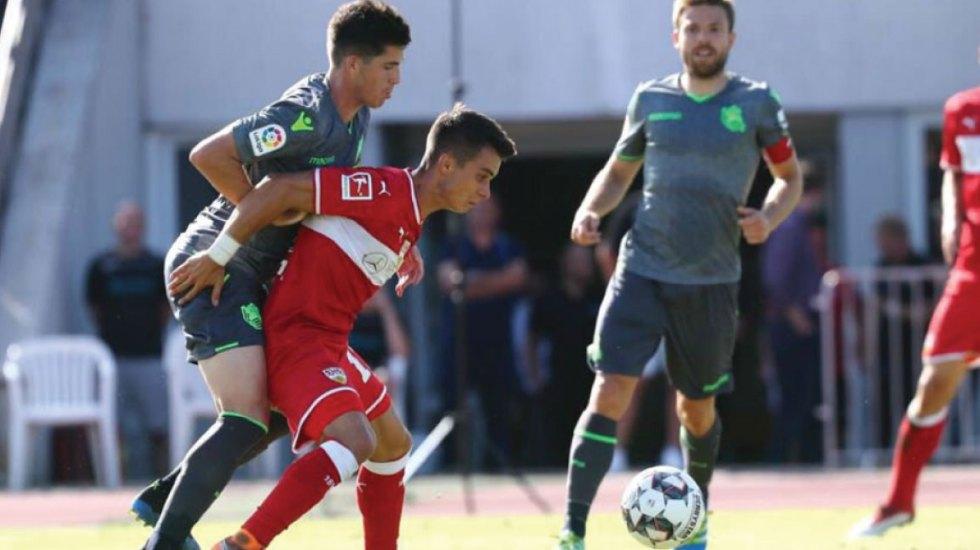 Con Héctor Moreno de titular la Real Sociedad cae por la mínima