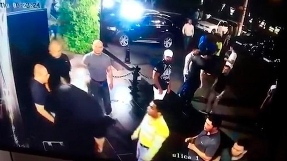 #Video Guardias matan a peleador de MMA en Uzbekistán