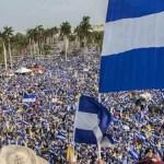 Marchan en Nicaragua para exigir excarcelación de 400 personas