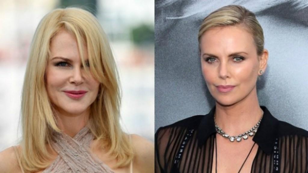 Nicole Kidman y Charlize Theron harán una película sobre abuso sexual - Foto de Internet