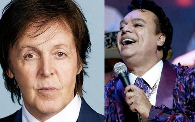 Paul McCartney rechazó grabar dueto con Juan Gabriel - Foto de internet