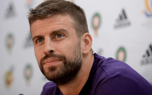 Piqué reitera que no volverá a jugar con la selección española - Foto de AFP