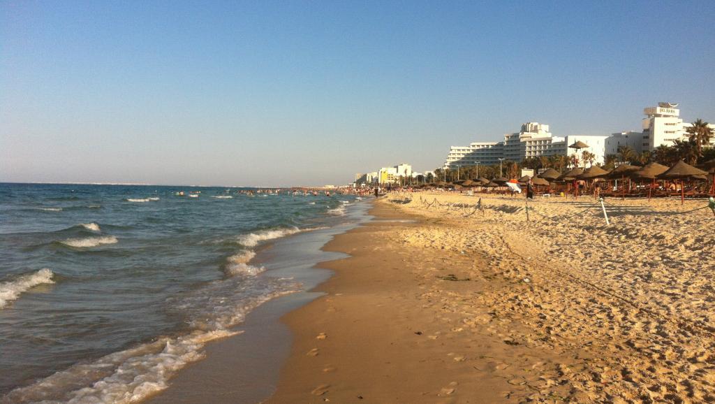 Murió en la playa de la forma más absurda — Vacaciones mortales