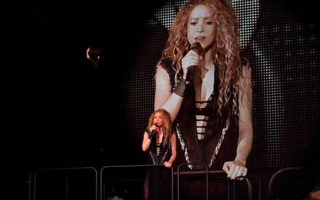 Shakira suspende concierto en Los Ángeles por infección - Foto de @LiveNation
