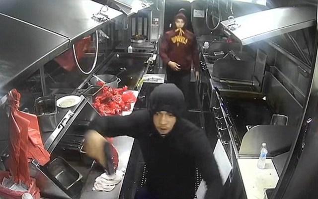 #Video Violento asalto a foodtruck en Los Ángeles