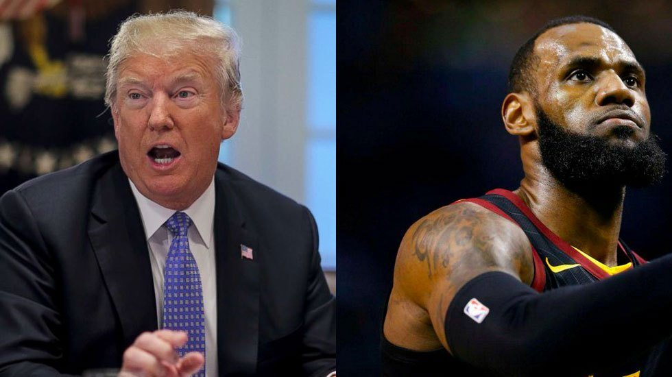 Trump arremete contra LeBron James