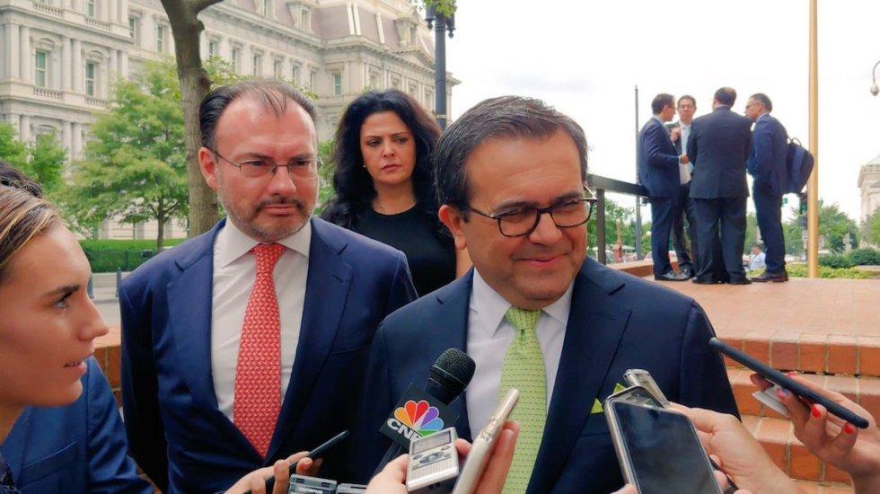 México y EE.UU. continúan hoy negociaciones por TLC - Continúan trabajos de renegociación del TLC en Washington D.C.