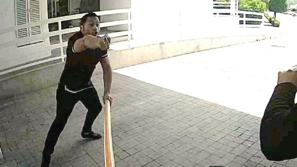#Video Roban 500 mil pesos a cuentahabiente en segundos - Foto de @alertasurbanas