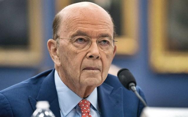 Acusan a secretario de Comercio de EE.UU. por robo de 120 mdd - Wilbur Ross. Foto de New York Times