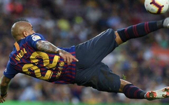 El Barcelona vence 8-2 al Huesca y alcanza el liderato en LaLiga - Foto de AFP
