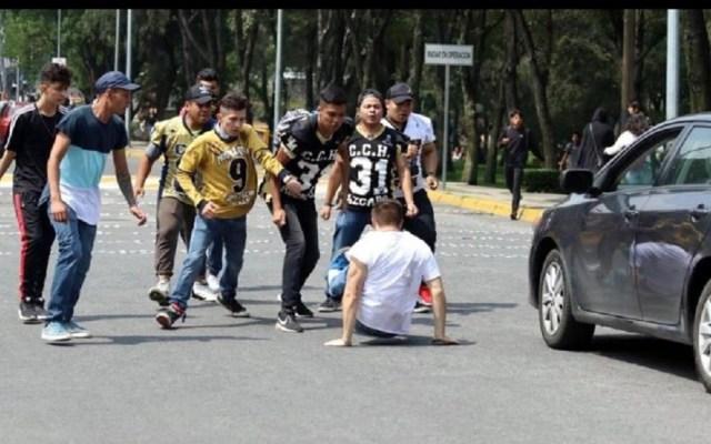 UNAM expulsa a tres estudiantes del CCH Naucalpan por agresión en CU - Un alumno resultó gravemente lesionado en los hechos. Foto de @CitlaHM
