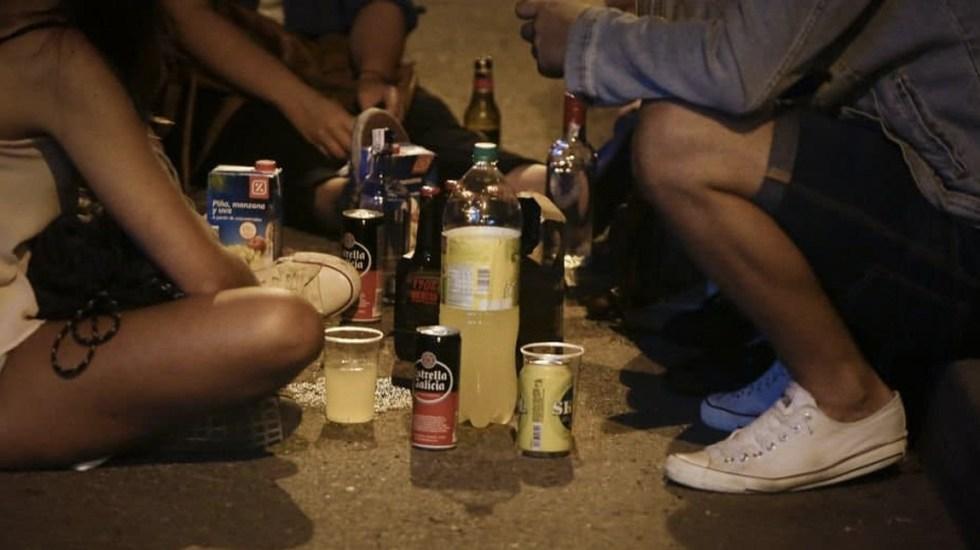 Consumo de alcohol comienza a los 10 años en México: Conadic - Foto de Internet