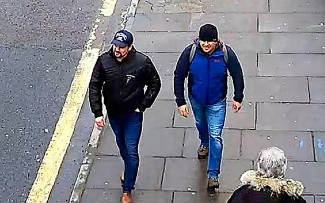 Rusos acusados por Reino Unido en caso Skripal afirman ser turistas - Foto de Metropolitan Police Service / AFP