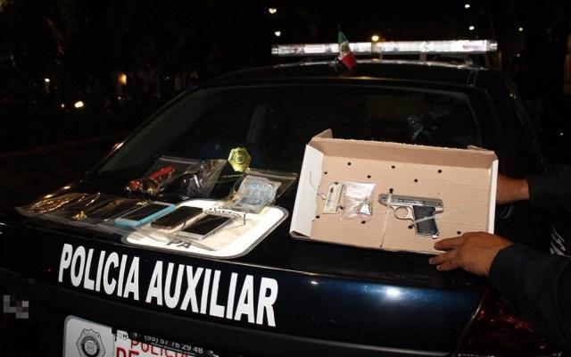 Balacera tras asalto en restaurante de la Roma deja dos detenidos - Foto de @SSP_CDMX