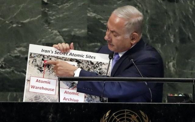 """Israel denuncia ante la ONU """"almacén atómico secreto"""" de Irán - Foto de AP"""