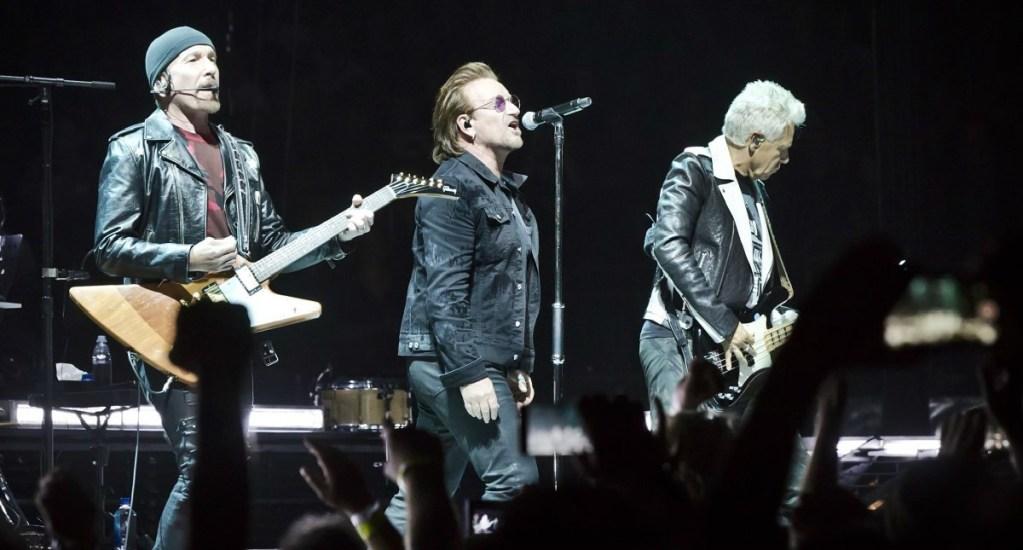 Bono pierde la voz durante concierto en Berlín - Foto de Internet