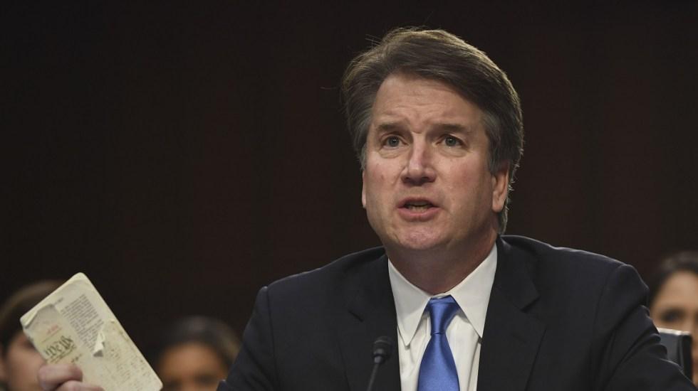 Comisión del Senado de EE.UU. aprueba a Kavanaugh para la Corte Suprema - Brett Kavanaugh, nominado a la Corte Suprema de Estados Unidos. Foto de AFP / Saul Loeb