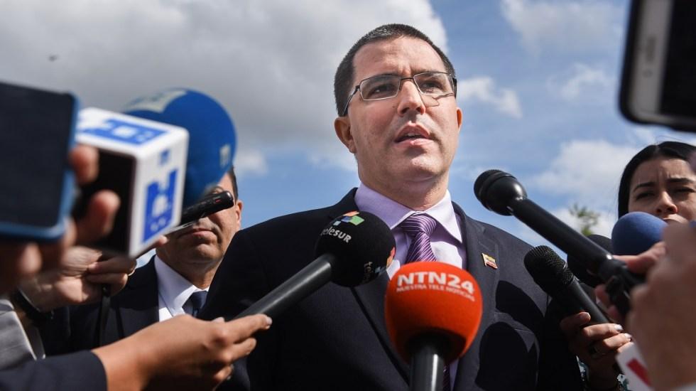 Venezuela saldrá de la OEA en abril por decisión propia: canciller - Canciller de Venezuela, Jorge Arreaza. Foto de AFP / Getty Images