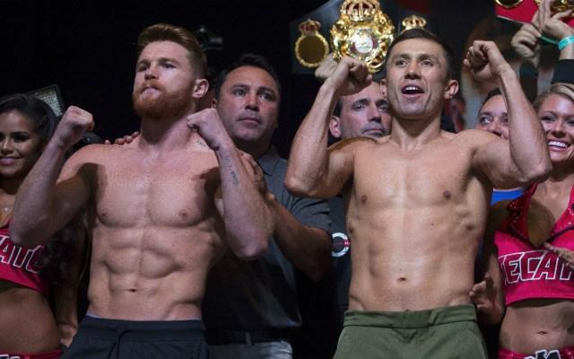 Estas serán las ganancias que tendrán 'Canelo' y Golovkin tras la pelea - Foto de Mexsport